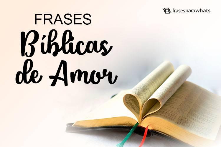 Frases Bíblicas de Amor