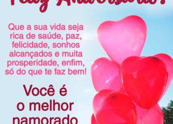 Mensagem Aniversário para Namorado