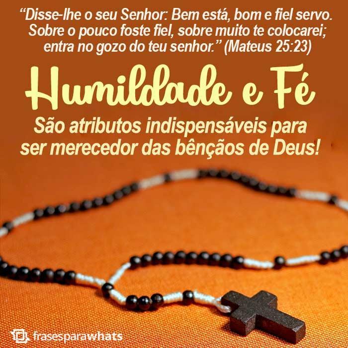 Mensagem bíblica de fé 17