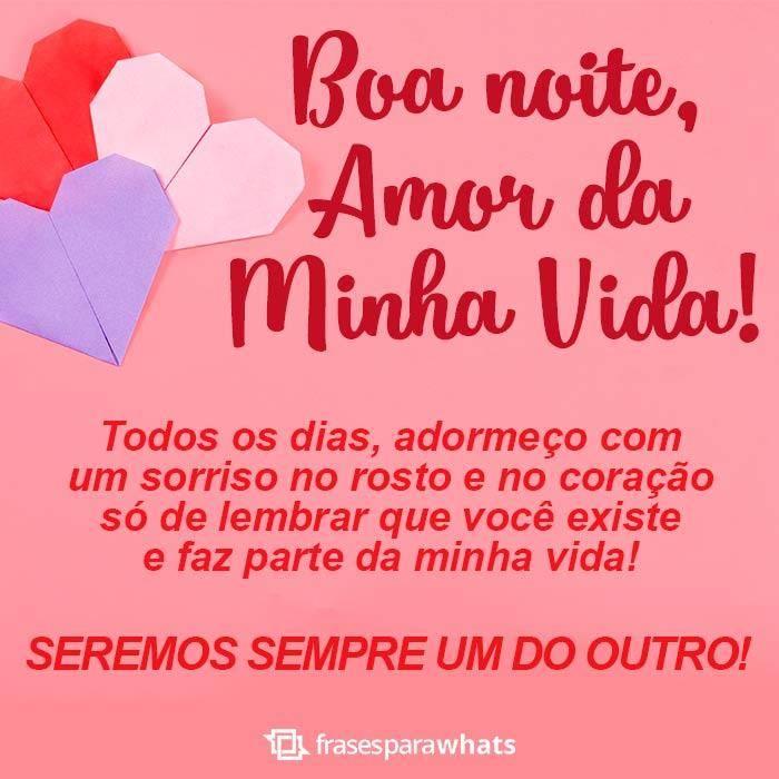 Boa Noite Amor Frases Para Whatsapp