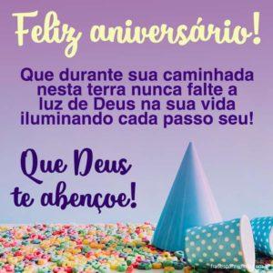Feliz Aniversário! Muita Paz! 6