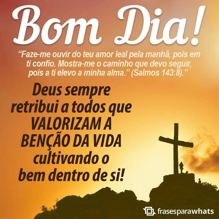 Mensagem bíblica de bom dia 9