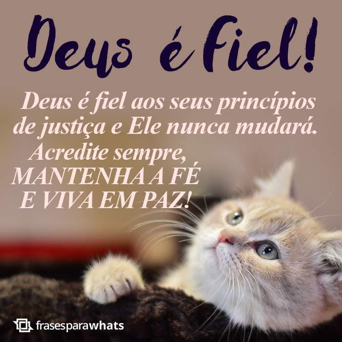 Deus é fiel 1