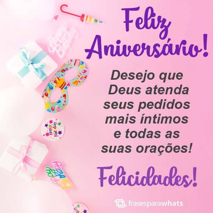 Feliz Aniversário! Felicidades!