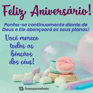 Feliz Aniversário! Muita Paz! 5