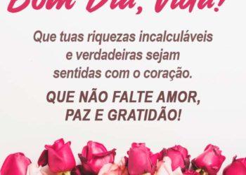 Bom Dia com Amor, Paz e Gratidão