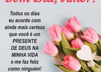 Bom Dia! Você é um Presente de Deus!