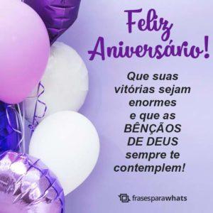 Feliz Aniversário, Deus te Abençoe! 1
