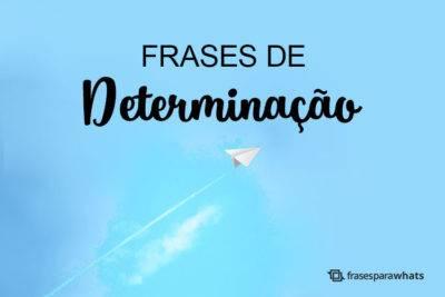 Frases de Determinação 13