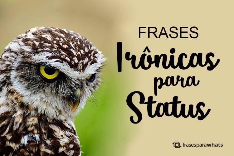 Frases Irônicas para Status