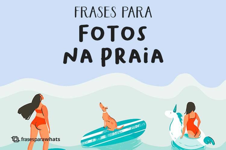 Status para Fotos na Praia