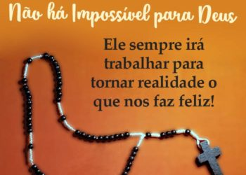 Deus Faz Acontecer o que Nos Faz Feliz