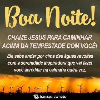 Boa Noite, Jesus Caminha com Você 6