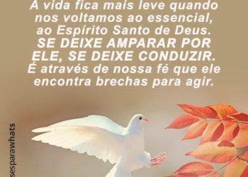 Volte-se para o Espírito Santo de Deus