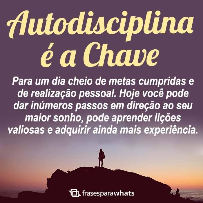 Autodisciplina é a Chave 5