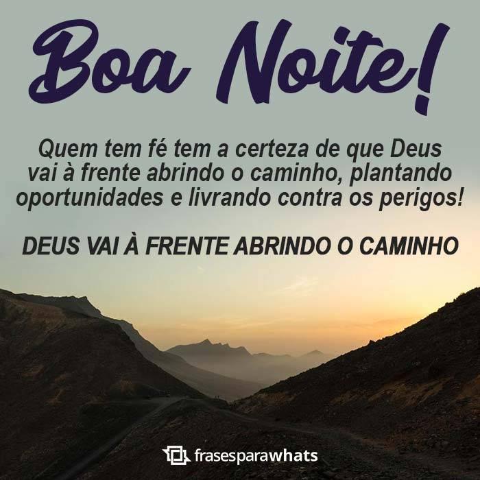 Boa Noite, Deus Abre o Caminho