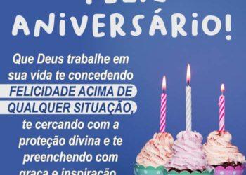 Feliz Aniversário com Deus Trabalhando
