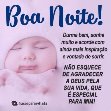 Boa Noite, Agradeça por Tudo 6