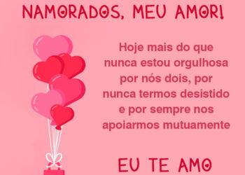 Feliz Dia dos Namorados, Te amo