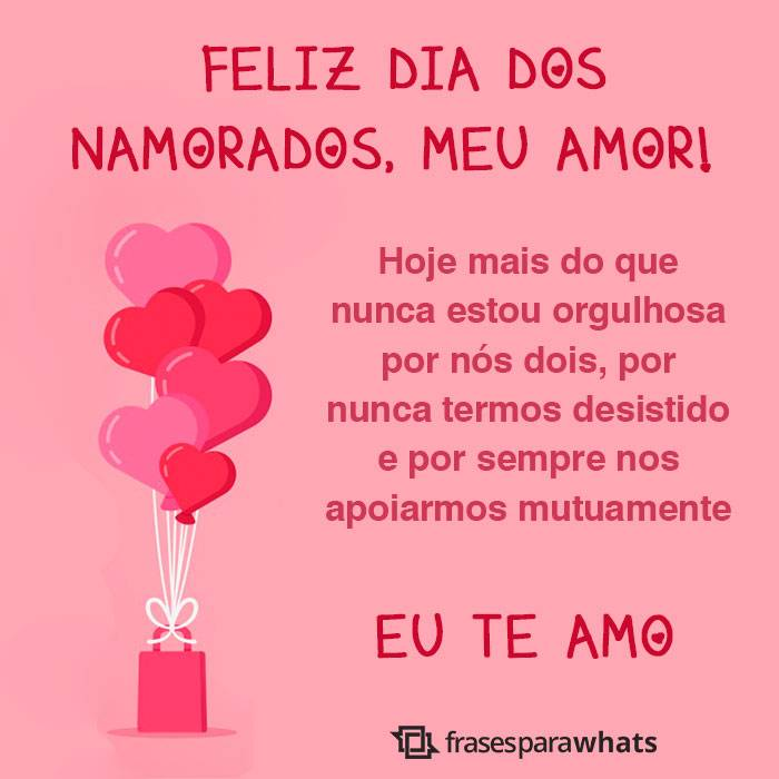 Feliz Dia dos Namorados, Te amo 2