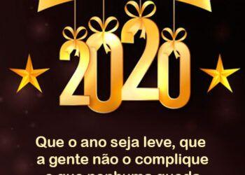 Mensagem para um Feliz 2020